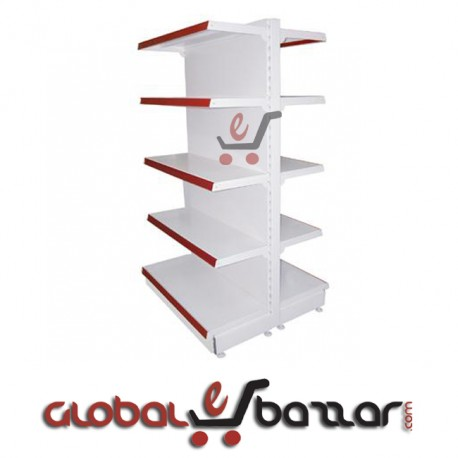 Supershop Two-Way Middle Unit Gondola Rack in Bangladesh