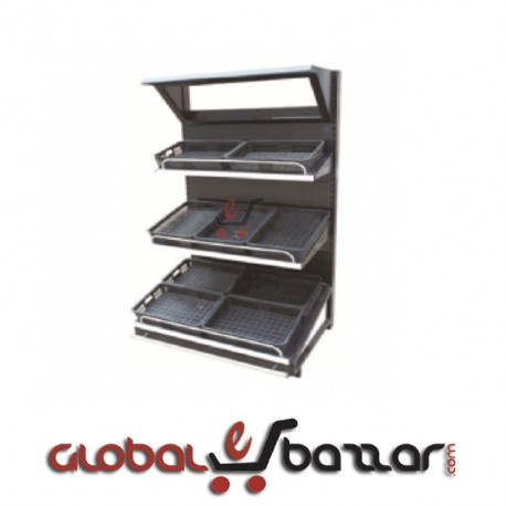 Supershop Fruits Vegetables Display Stand