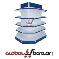 Supershop Column Plated Gondola Rack in Bangladesh