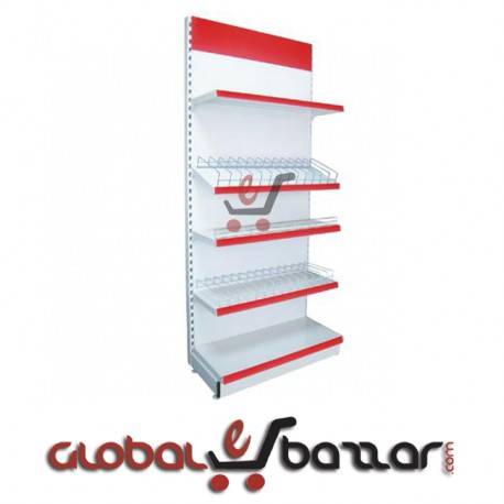 Supershop Barrier Wall Unit Gondola Rack in Bangladesh