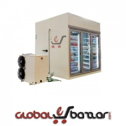 Glass Door Chiller Room For Beverage