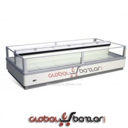 Supershop Island Display Chiller/Freezer-Two Part in Bangladesh