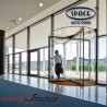 Clear Glass Revolving Door