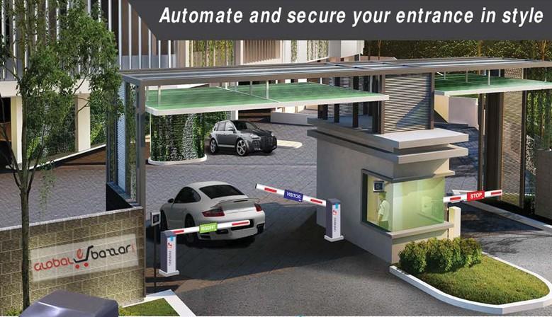 Car Parking Barrier System